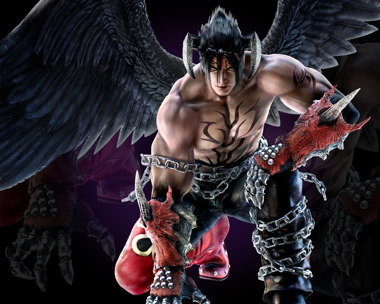 Devil Jin Wallpaper Tekken Zaibatsu Forums