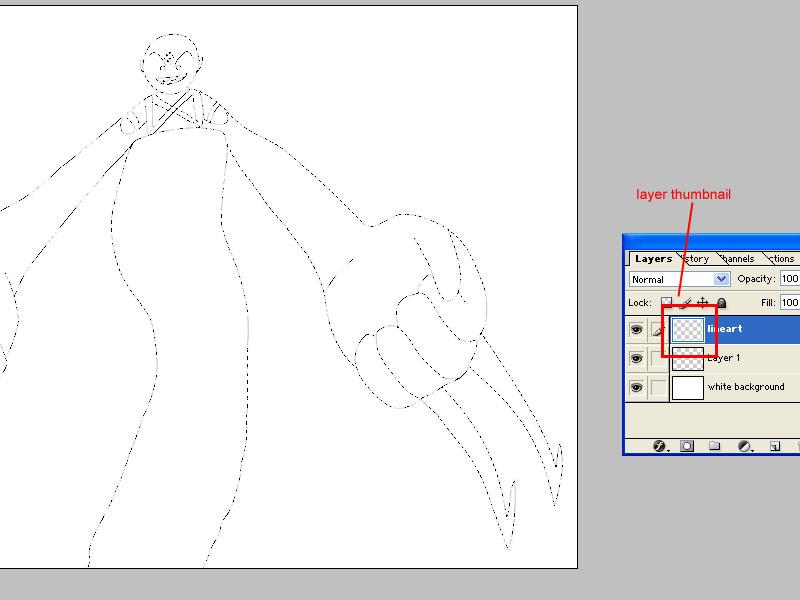 Line Art Layer : Lineart tidbits